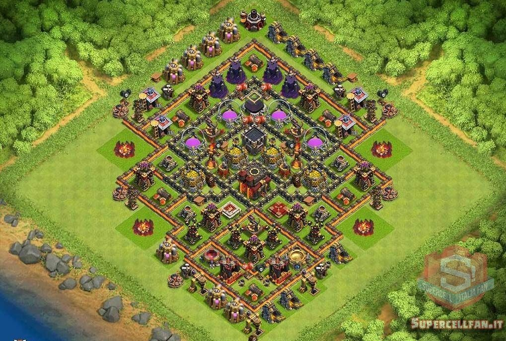 migliori layout farming th10 (2)