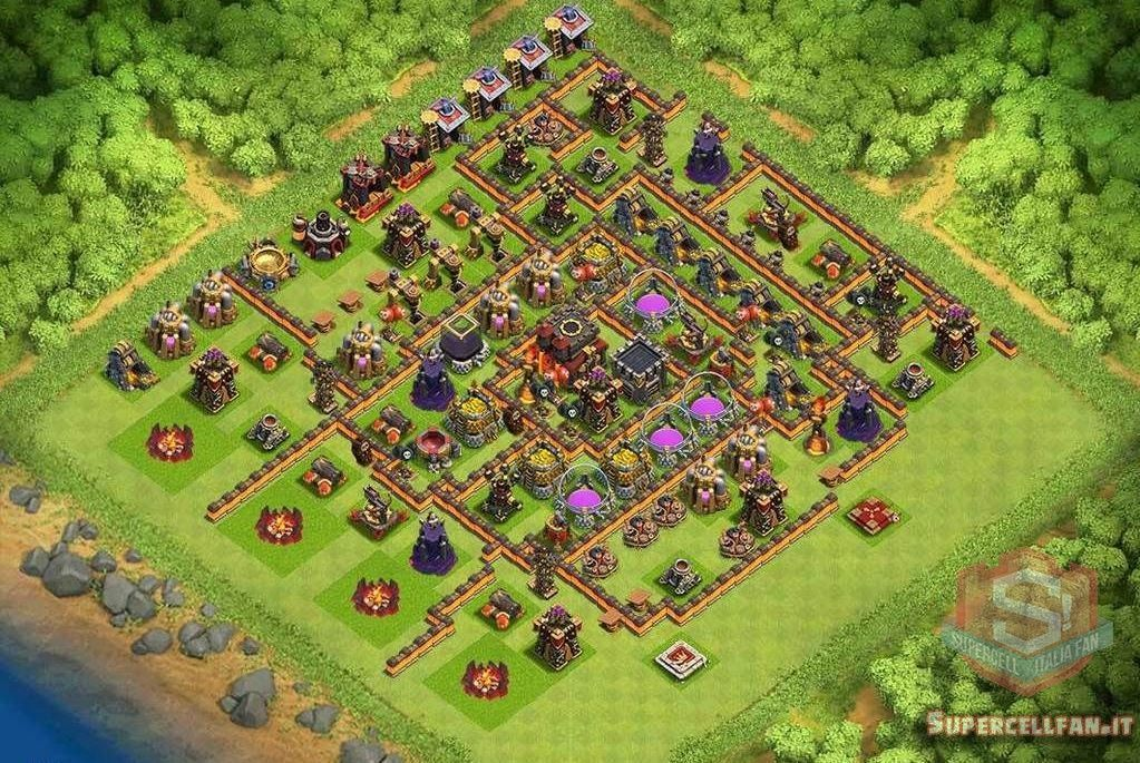 migliori layout farming th10 (3)