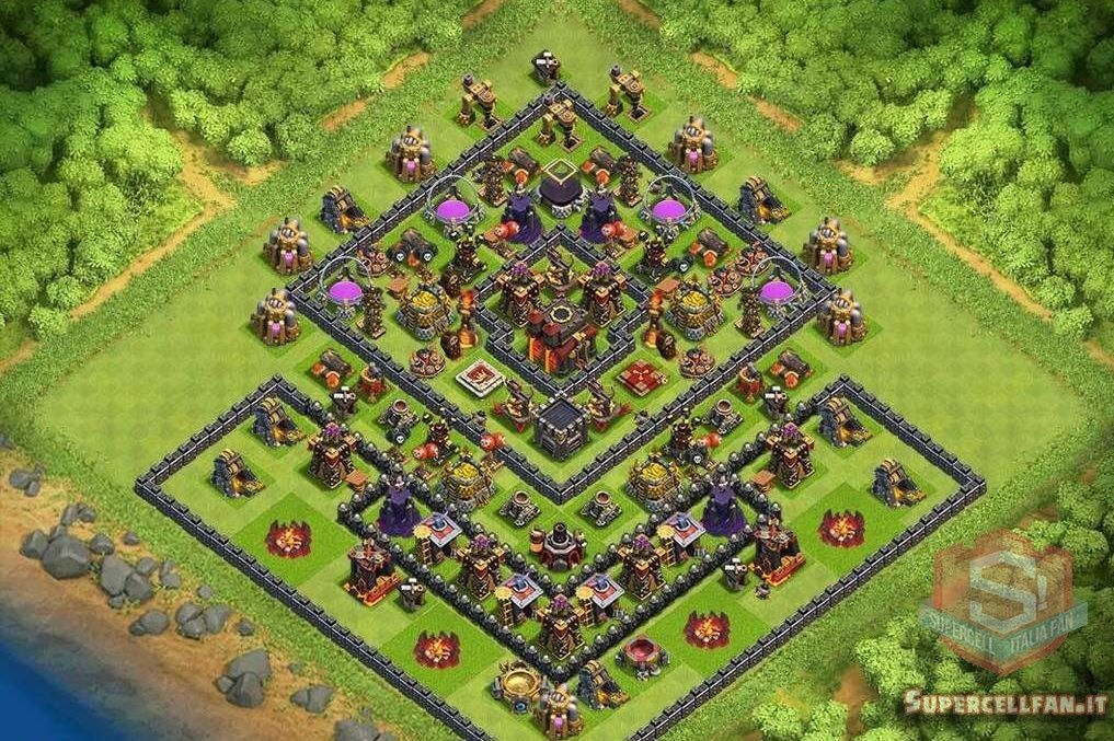 migliori layout farming th10 (4)