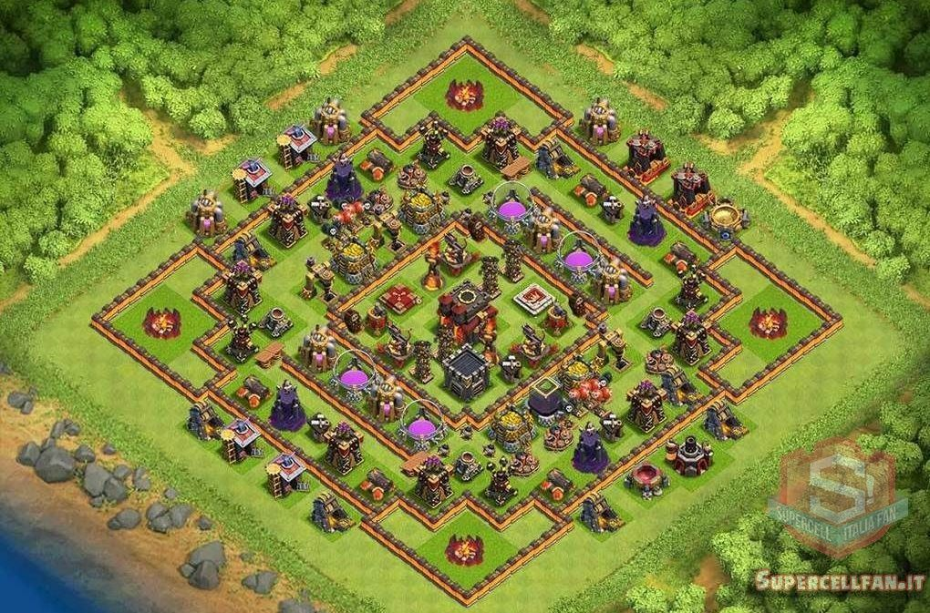 migliori layout farming th10 (6)