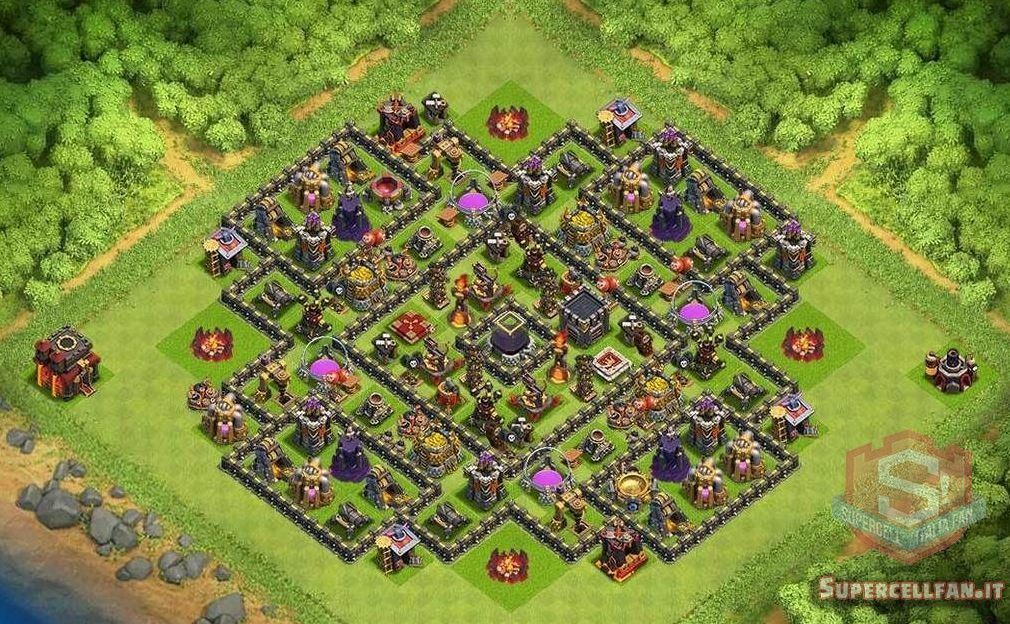 migliori layout farming th10 (7)