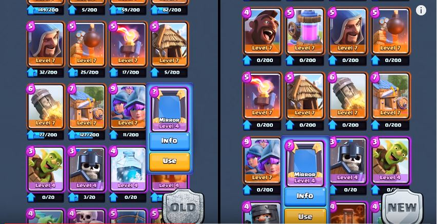 2 carte nuove clash royale