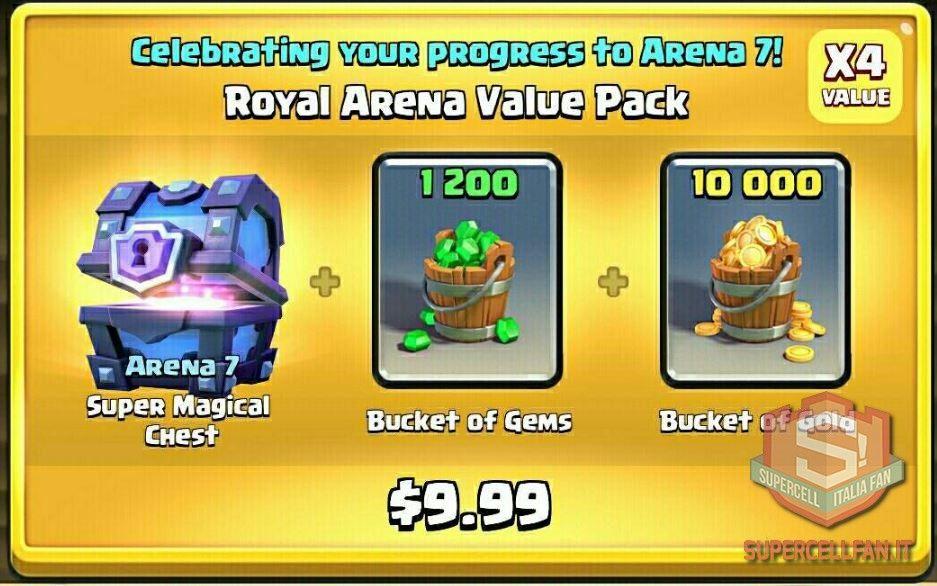 Offerte Speciali di Clash Royale arene (2)