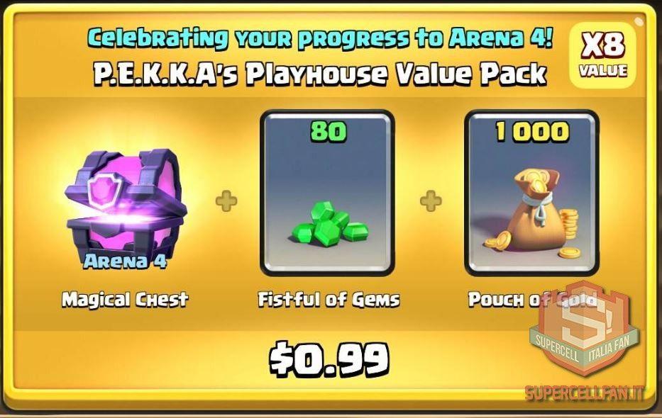 Offerte Speciali di Clash Royale arene (5)