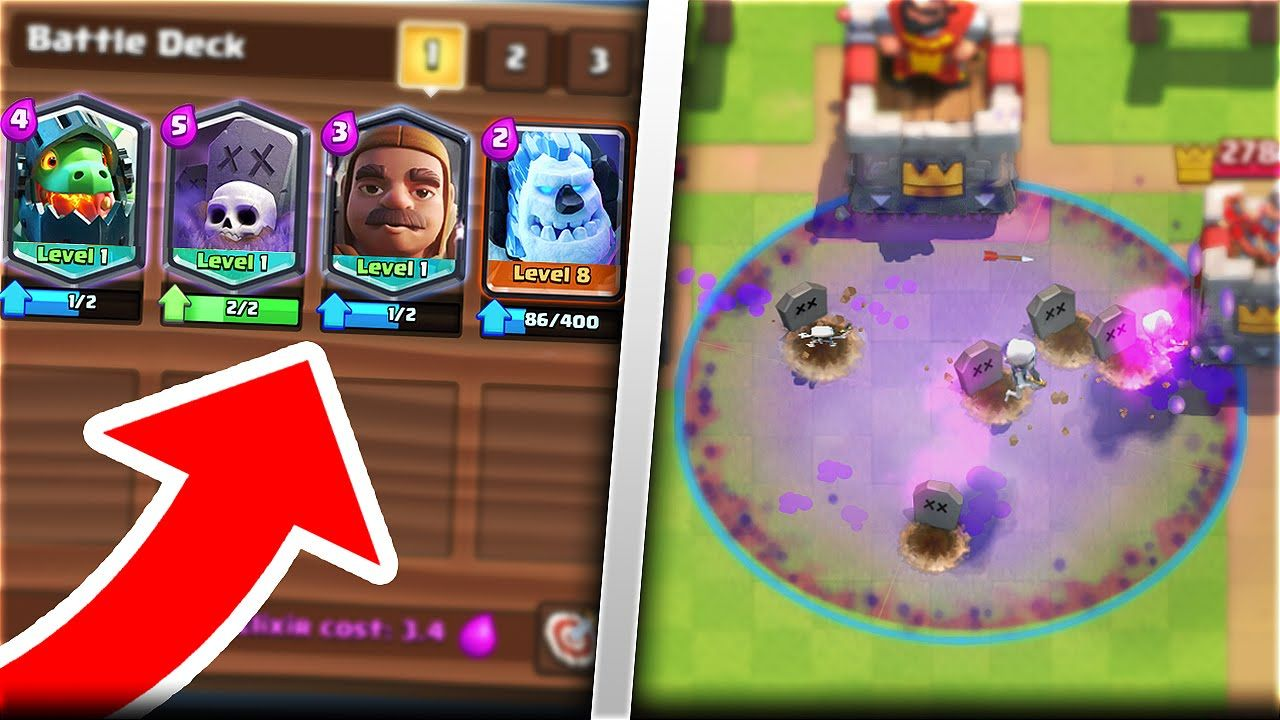 Video Pozione Cimitero Su Clash Royale Supercell Italia Blog