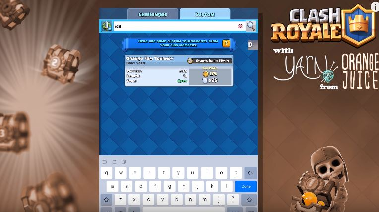 Clash Royale Tournament Unlock