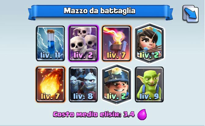 deck arena 7 anti scarica