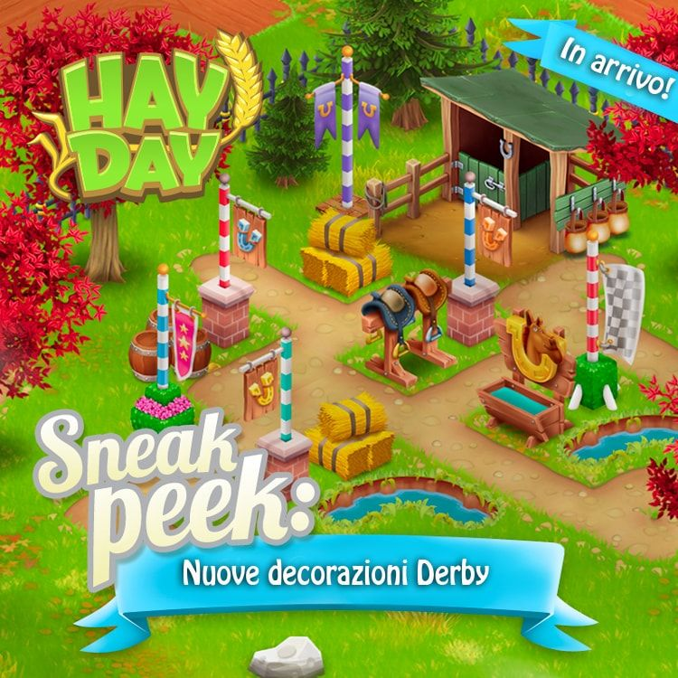 Hay Day: decorazioni Derby