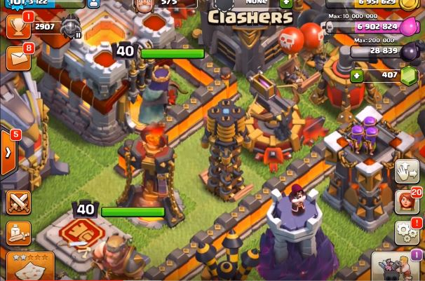 arco-x-livello-5-clash-of-clans