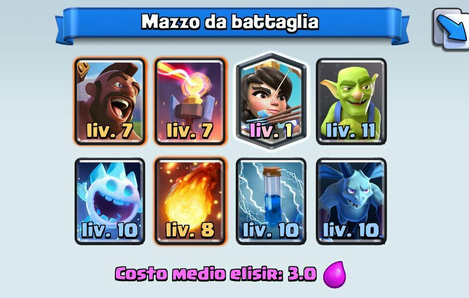 cycle deck clash royale