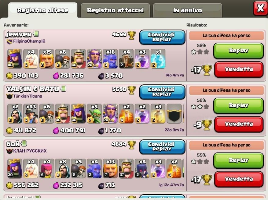 difese-in-clash-of-clans-lega-leggenda