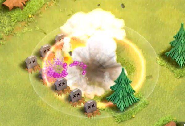 esplosione torre bombardiera