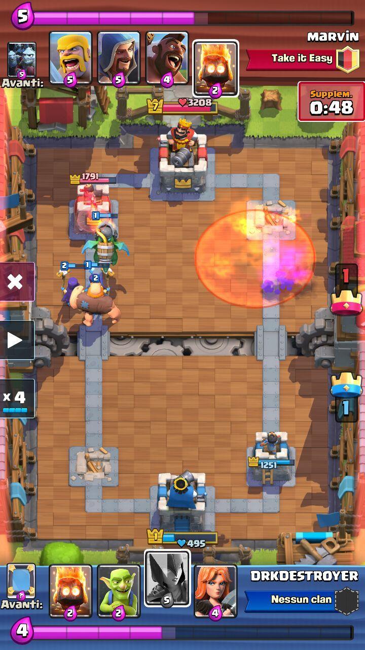 deck arena 6 gigante drago infernale supercell italia blog