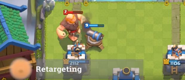 retargeting tronco clash royale