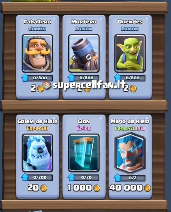 le-carte-epiche-costo-clash-royale