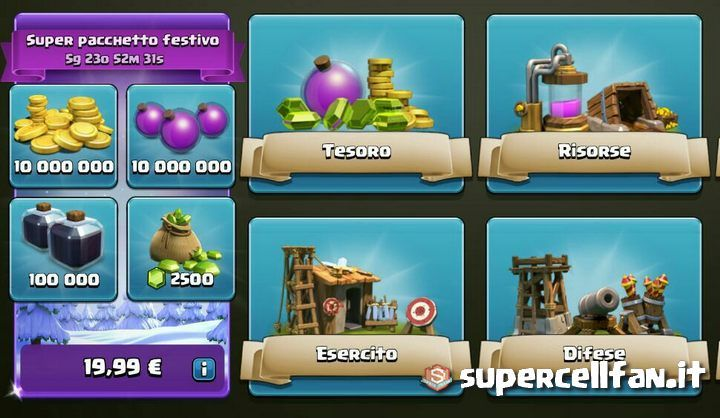 nuova-offerta-clash-of-clans-gemme
