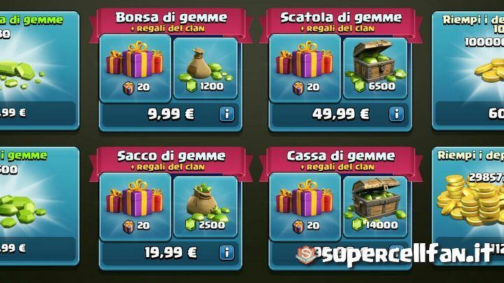 regalare-gemme-a-compagni-del-clan-clash-of-clans-1