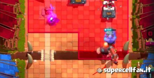 ariete da battaglia combo con gigante clash royale